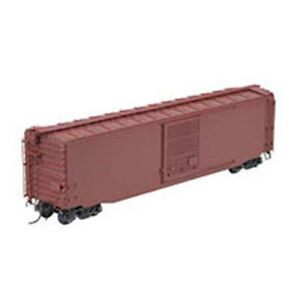 Kadee #6000 Undecorated Sharp Slope No Lip Sill 50' PS-1 Boxcar Red RTR HO Scale