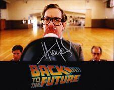 Huey Lewis SIGNED 10X8 Photo Back to the Future AFTAL COA (A2)