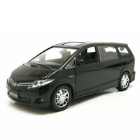 1/32 Toyota Previa MPV Model Car Alloy Diecast Toy Vehicle Gift Pull Back Black
