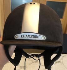 CHAMPION D'équitation De Sécurité Chapeau Casque. 58 cm Ventair 58