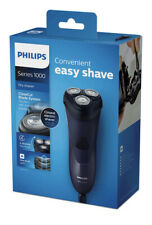 Philips Shaver Series 1000 Dry Electric Shaver Corded Black *BRAND NEW*