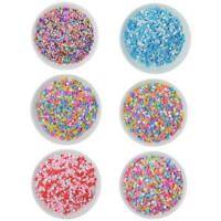 100g Box Clay Sprinkles For Filler For Slime DIY Supplies Candy Fake Cake Decor