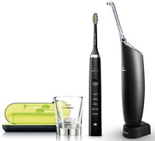 Philips hx8491/03 Sonicare Ultra Set DiamondClean & AirFloss black edition neuf