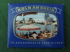 Souvenir Picture Booklet Koln Germany