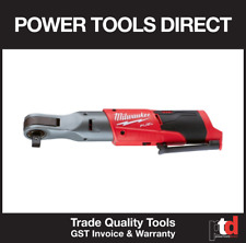 "NEW MILWAUKEE M12 12V CORDLESS M12FIR-0 3/8"" SQUARE DRIVE RATCHET BARE TOOL SKIN"