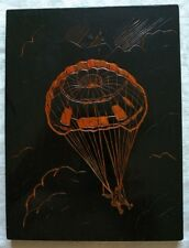 Russian Soviet Airborne parachutist picture  USSR Propaganda VDV