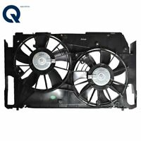 TO3117102 Radiator AC Condenser Cooling Dual Fan For 06-12 Toyota RAV4 2.4L 2.5L
