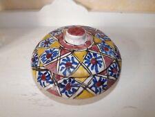 bonbonnière céramique ORIENTALISTE LACHENAL ? 1930 40 50