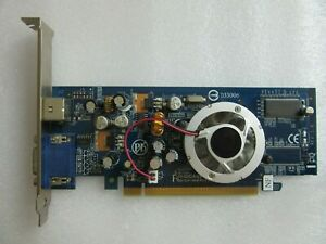 Gigabyte GV-NX73S256T-RH GeForce 7300 256MB PCI-E Graphics Video Card S-Video