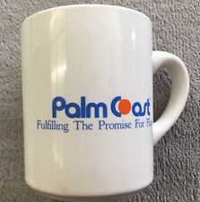 "Vintage 1978 ""Palm Coast Fulfilling The Promise For Florida"" Ceramic Mug"