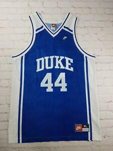RARE 1995 Nike NCAA Duke Blue Devils Basketball Jersey Cherokee Parks Size XL
