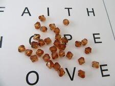 2400 Coffee Acrylic Bicone Beads 8mm Jewellery Finding