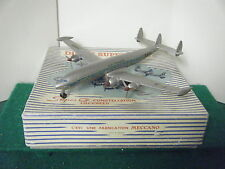"French Dinky No: 60C ""Super G Constellation Lockheed Plane"" (Air France)"