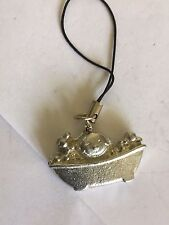 English pewter Mobile Phone charm Baby Bath Time Tg90 Fine