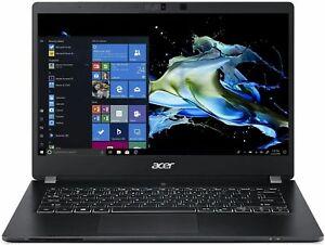 "Acer TMP614-51-G2-5442 14"" Laptop Intel Core i5-10310U 8GB RAM 256GB SSD Black"