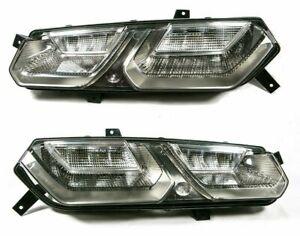 C7 Stingray Corvette Z06 GS GM Clear Tail Lights Lamps Genuine Chevrolet