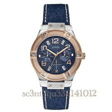 AUTHENTIC GUESS LADY JET SETTER WATCH RRP:$349 ROSE GOLD TONE Brand New *Dent