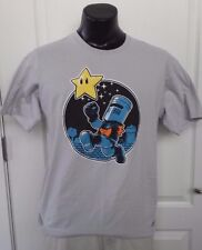 Black Knight Monty Python Holy Grail Nintendo Mario Satire TeeFury Gray T Shirt