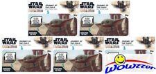 (5) 2020 Topps Star Wars: Mandalorian Journey of the Child BABY YODA Box