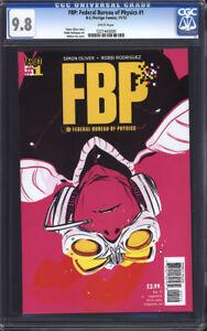 FBP: Federal Bureau of Physics #1 CGC 9.8 (Collider) / DC/Vertigo