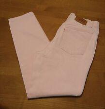 Vintage Levis 501 Jeans Women 13 Pink 17501-0681High Waist Button Fly 30x30