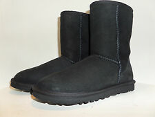UGG Australia Authentic Womens US:6 SHORT Suede Leather Sheepskin BOOTS Ret$160