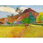 Paul Gauguin Tahitian Landscape Large Canvas Art Print