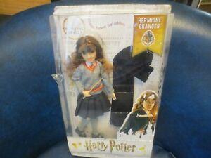 Hermione Granger Doll   Harry Potter Wizarding World by Mattel - New Damaged box