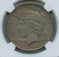 1934 S Peace Dollar NGC XF 45 Stone cold Original  Problem Free Undergraded IMO