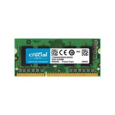 Memoria crucial SO-DIMM DDR3 4GB 1600hz Cl11 Mac