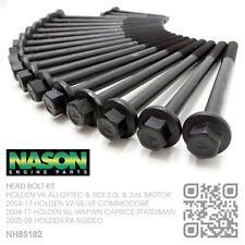 NASON HEAD BOLT KIT V6 ALLOYTEC/SIDI 3.0L & 3.6L MOTOR [HOLDEN VE-VF COMMODORE]