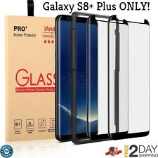 Samsung Galaxy S8 Plus Real Tempered Glass Screen Protector Guard 2-Pack