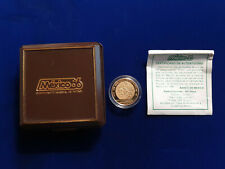 🌟1986 WORLD CHAMPIONSHIP OF FOOTBALL MEXICO 250 PESOS 1/4 OZ GOLD PROOF COIN