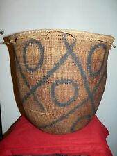 YANOMAMO (YANOMAMI) BRAZIL AMAZON INDIAN BURDEN BASKET