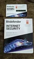 Bitdefender Internet Security 2020 - 3 Device / 1-Year - Activation Card w/ Key