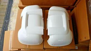 Fiat Ducato mirror guards protectors Pair Panelvan Motorhome Van Citroen Peugeot