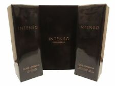DOLCE & GABBANA INTENSO FOR MEN AFTERSHAVE BALM 100ML & SHOWER GEL 100ML DUO SET