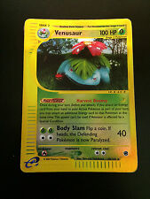 Pokemon Card Reverse Rare Holo Venusaur 68/165 Aquapolis Free Shipping