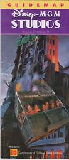 Original Disney Florida 2003 Disney-MGM Studios Guide / Pamphlet / Leaflet MINT