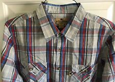 Mens Buffalo Jackson Trading Co. Two Pocket Camp Shirt Moss Trail 2XL $85
