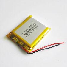 610mAh 3.7V Lipo Polymer Battery 453438 For MP3 MP4 Speaker Selfie Stick PSP GPS