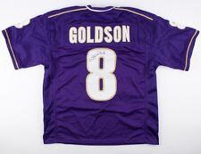 Dashon Goldson Signed Washington Huskies Jersey (JSA COA) Tampa Bay Buccaneers