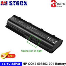Battery for HP Pavilion CQ42 593553-001, 593554-001 MU06, MU09 G6 Series AU