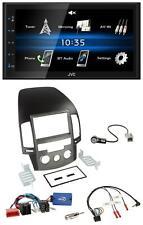 JVC USB 2DIN Bluetooth MP3 Lenkrad Autoradio für Hyundai i30 ab 2009