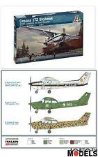CESSNA 172 SKYHAWK 1987 Red Square 1/48 Model Kit Aereo Plane Italeri 2764 New