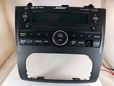 2008 07-09 Nissan Altima BOSE 6 CD AUX Player Radio 28185 JA110
