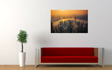 "SHANGHAI SKYLINE LARGE ART PRINT POSTER PICTURE WALL 33.1"" x 20.7"""