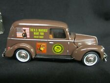 Golden Wheels Official Ford 1940 U.S. Marines Recruiting Car 1:32 Scale Diecast