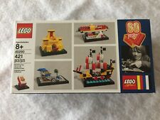 Lego 40290 60th Classic Anniversary Set Limited Edition 421 Pieces, MIP, RETIRED