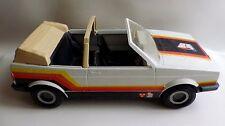 Big Jim Série Espionnage - VW Golf Cabriolet Blanche. 1981
